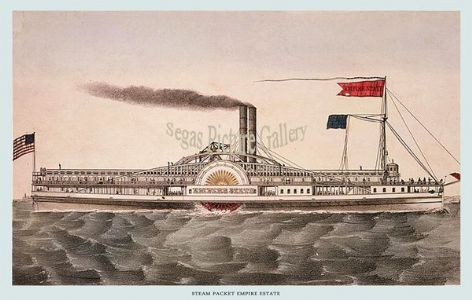Fine art print of the Steamship - Empire State
